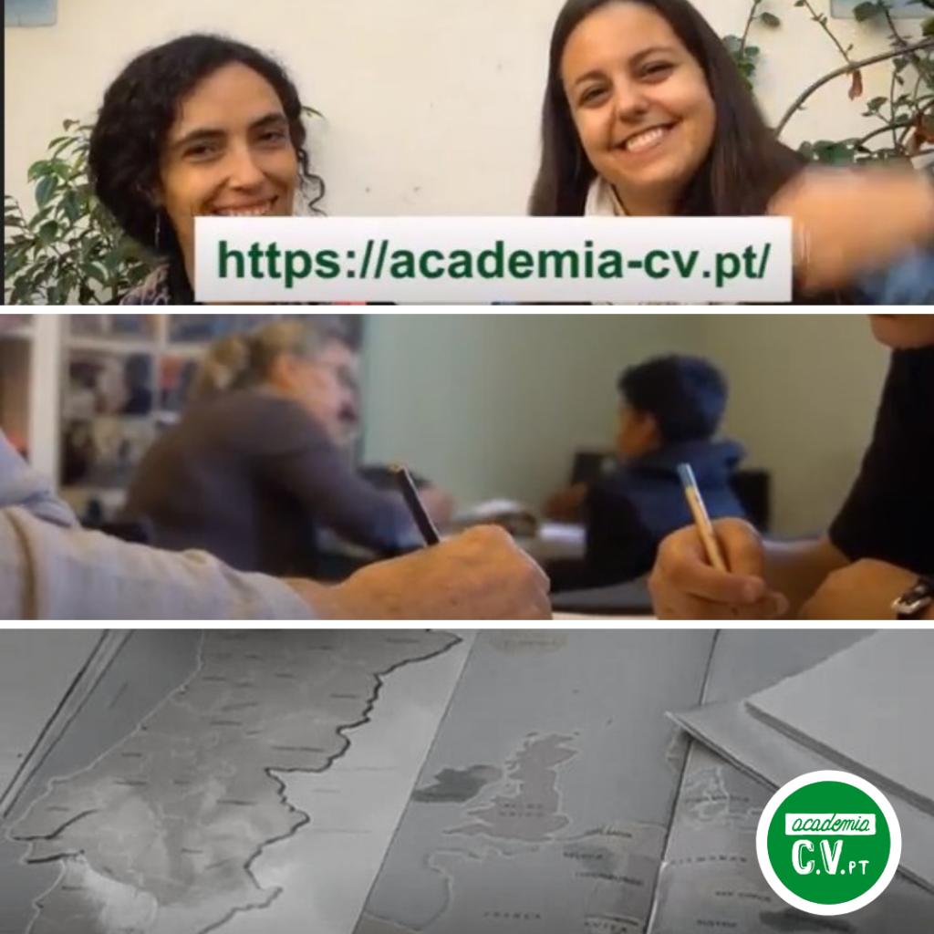 Vídeo final do Projeto Academia CV.pt Alfama 2018/2019